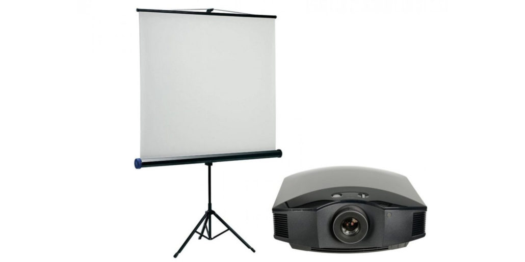 проекторы и экраны